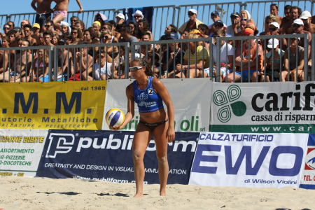 Grande beach volley a Civitanova con il Del Monte King & Queen