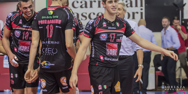 Per la Lube domani big match a Trento