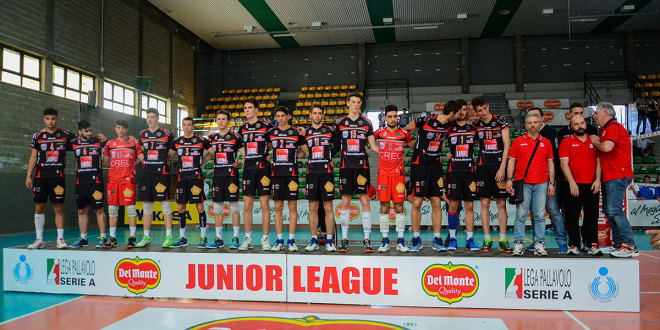 Junior League, la Lube conquista la medaglia d'argento