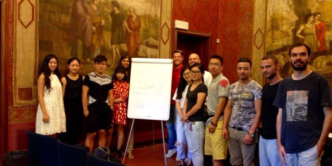 Quaranta studenti cinesi frequentano le summer school dell'Università di Macerata