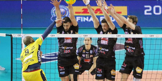 Champions League, la Lube schianta Modena e conquista la Final Four