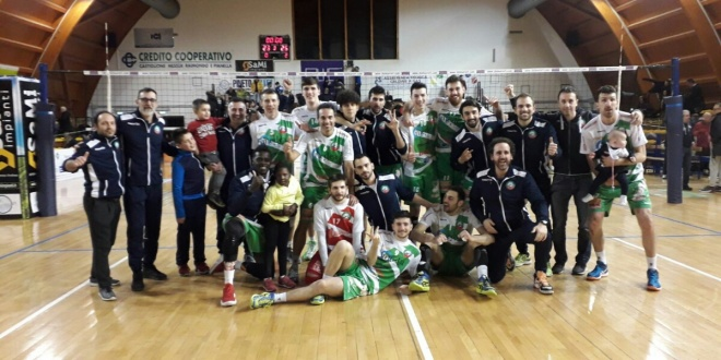 La Medea Macerata batte il Pineto Volley per 3 – 0