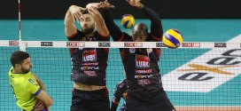 La Lube Civitanova torna alla vittoria superando Latina in tre set