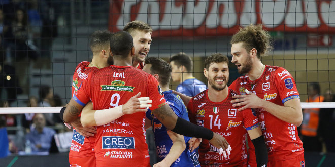 Champions League, Lube Civitanova in campo con Fenerbahce all'Eurosuole Forum