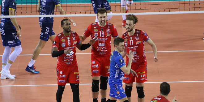Champions League, Lube Civitanova in campo con Trentino Itas