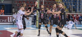 Lube Civitanova supera Cisterna in tre set. I cucinieri tornano in vetta alla classifica